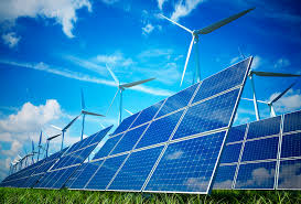 100% reneewable solar and wind